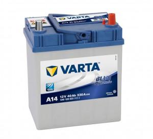 Acumulator auto 12 V - 40 Ah Varta Blue Dynamic - www.mbcauto.ro