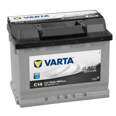 Acumulator auto 12 V - 56 Ah Varta Black - www.mbcauto.ro