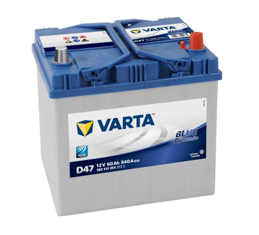 Acumulator auto 12 V - 60 Ah Varta Blue Dynamic Asia - www.mbcauto.ro