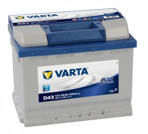 Acumulator auto 12 V - 60 Ah Varta Blue Dynamic - www.mbcauto.ro