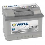 Acumulator auto 12 V - 61 Ah Varta Silver - www.mbcauto.ro