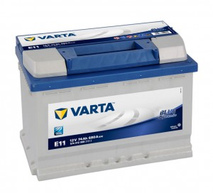 Acumulator auto 12 V - 74 Ah Varta Blue Dynamic - www.mbcauto.ro