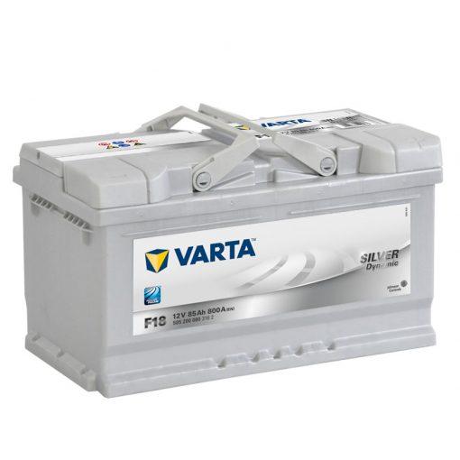 Acumulator auto in Constanta 12 V - 85 Ah Varta Silver - www.mbcauto.ro