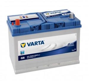 Acumulator auto 12 V - 95 Ah Varta Blue Dynamic Asia - www.mbcauto.ro