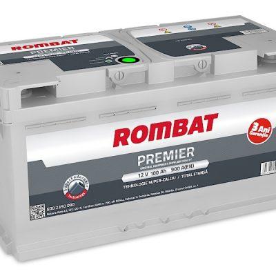 Acumulator auto in Constanta 12 V - 100 Ah Rombat Premier