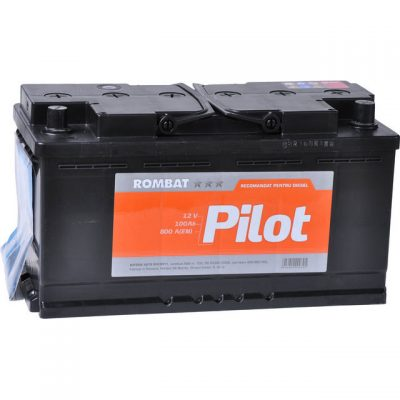 Acumulator auto 12 V – 100 Ah Rombat Pilot