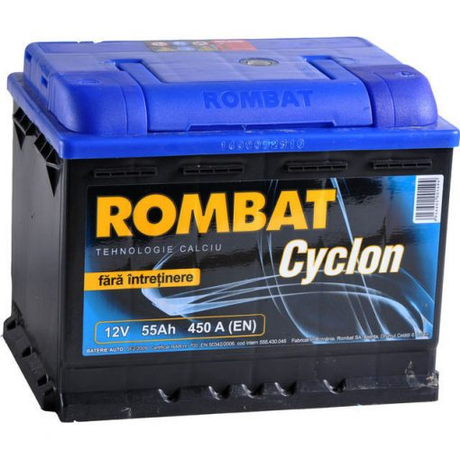 Acumulator auto in Constanta 12 V - 55 Ah Rombat Cyclon