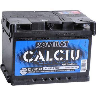 Acumulator auto in Constanta 12 V - 62 Ah Rombat Calciu