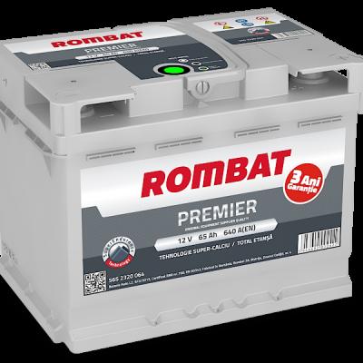 Acumulator auto in Constanta 12 V - 65 Ah Rombat Premier