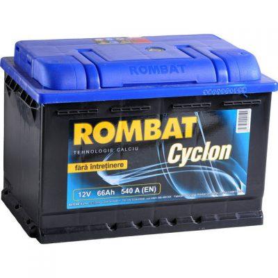 Acumulator auto in Constanta 12 V - 66 Ah Rombat Cyclon