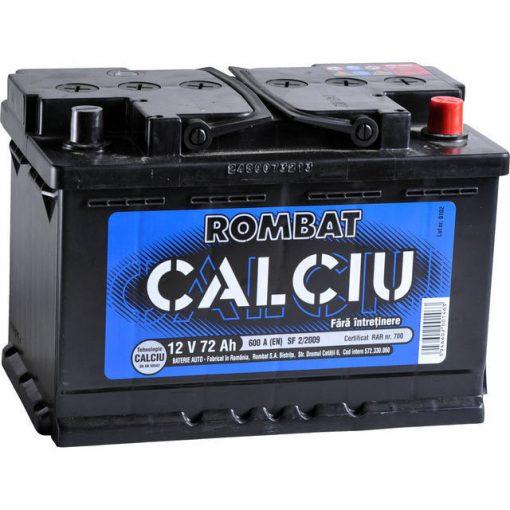 Acumulator auto in Constanta 12 V - 72 Ah Rombat Calciu