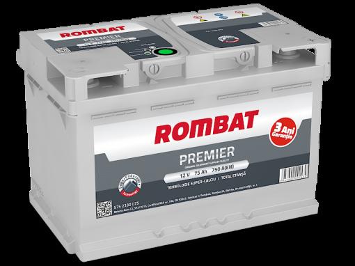 Acumulator auto in Constanta 12 V - 75 Ah Rombat Premier