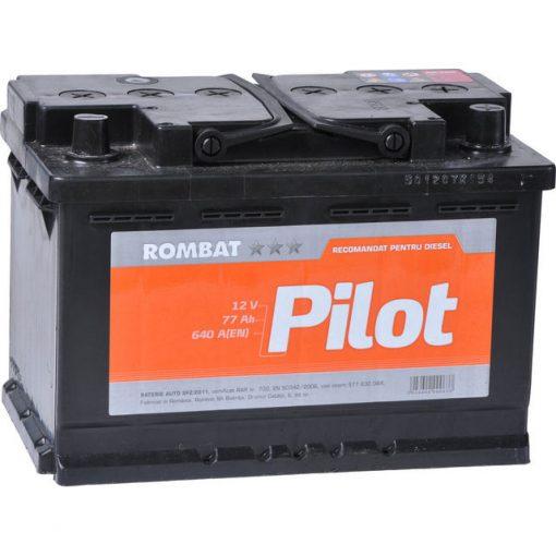Acumulator auto 12 V – 77 Ah Rombat Pilot