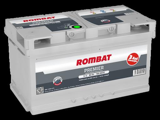 Acumulator auto in Constanta 12 V - 80 Ah Rombat Premier