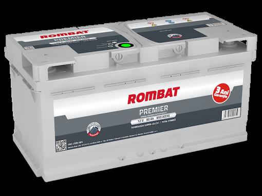 Acumulator auto in Constanta 12 V - 90 Ah Rombat Premier