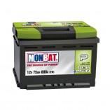 Acumulator auto Constanta 12 V - 80 Ah Monbat Premium - www.mbcauto.ro