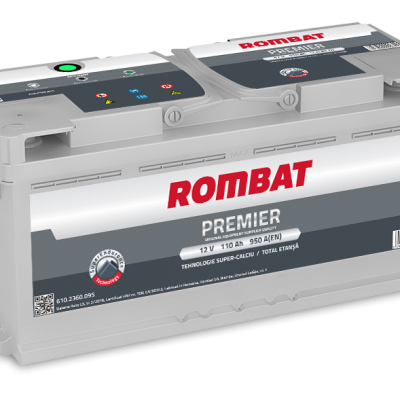 Acumulator auto in Constanta 12 V - 110 Ah Rombat Premier
